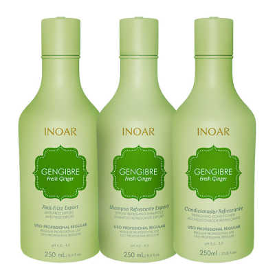 Inoar Gengibre Fresh Ginger Trio Care Kit (3 Produtos)