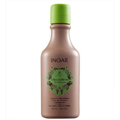 Inoar Macadamia Oil Premium Leave-In 250ml