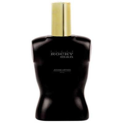 Jeanne Arthes Perfume Masculino Rocky Man Black - Eau de Toilette 100ml