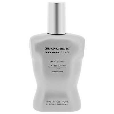 Jeanne Arthes Perfume Masculino Rocky Man Silver - Eau de Toilette 100ml