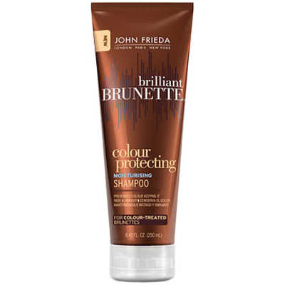 John Frieda Brilliant Brunette Colour Protecting Moisturising - Shampoo 250ml
