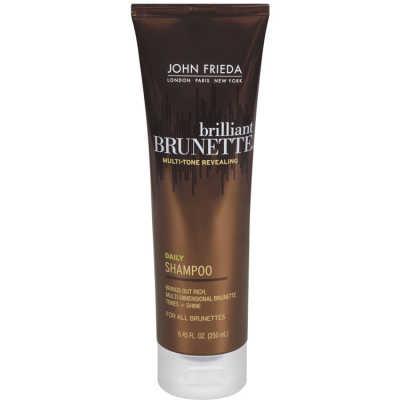 John Frieda Brilliant Brunette Daily - Shampoo 250ml