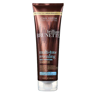 John Frieda Brilliant Brunette Moisturizing - Shampoo 250ml