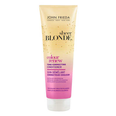 John Frieda Sheer Blonde Color Renew Tone-Correcting Conditioner - Condicionador 250ml