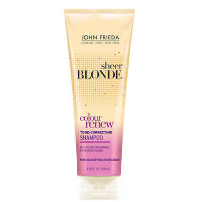 John Frieda Sheer Blonde Color Renew Tone - Correcting Shampoo 250ml