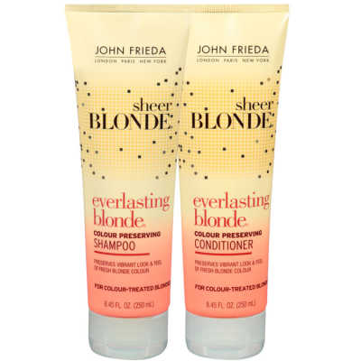 John Frieda Sheer Blonde Everlasting Blonde Colour Preserving Duo Kit (2 Produtos)