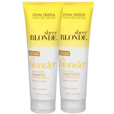 John Frieda Sheer Blonde Go Blonder Duo Kit (2 Produtos)