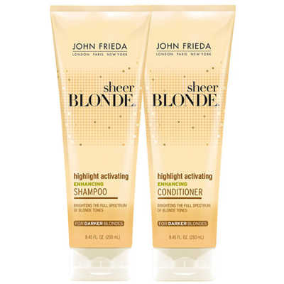 John Frieda Sheer Blonde Highlight Activating Darker Shades Duo Kit (2 Produtos)