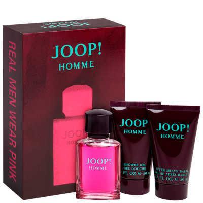 Conjunto Joop! Homme Masculino - Eau de Toilette 30ml + Gel de Banho 50ml + Pós Barba 50ml