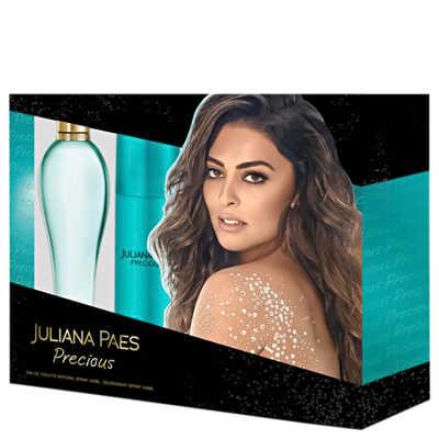 Conjunto Precious Juliana Paes Feminino - Eau de Toilette 100ml + Desodorante 150ml