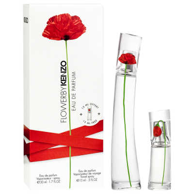 Kenzo Flower By Kenzo Conjunto Feminino - Eau de Parfum 50ml + Travel Spray 15ml