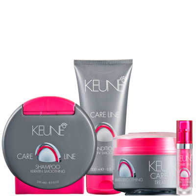 Keune Keratin Smoothing Full Kit (4 Produtos)