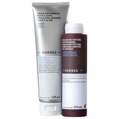 Korres Absinthe Marigold – Kit para Barbear (2 Produtos)