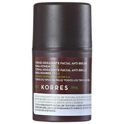 Korres Borage Para Homem - Hidratante Facial Anti-Brilho 45g