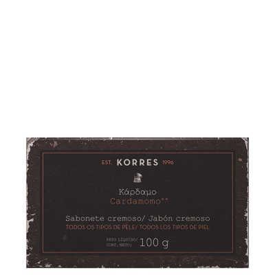 Korres Cardamomo - Sabonete Cremoso Em Barra 100g