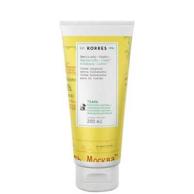 Korres Manjericão-Limão - Creme Corporal Extra Hidratante 200ml