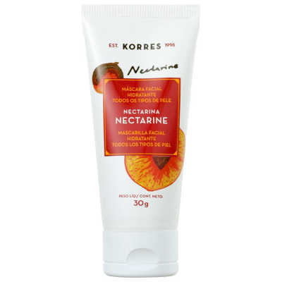 Korres Nectarine - Máscara Facial Hidratante 30g