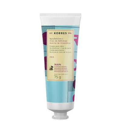 Korres Óleo de Amêndoas - Creme Hidratante Para Mãos SPF 15 75ml