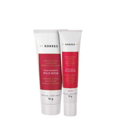Korres Wild Rose Duo Kit (2 Produtos)