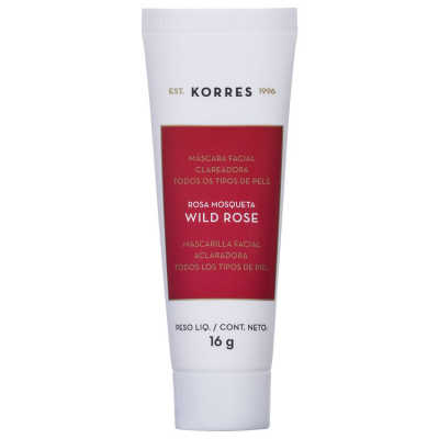 Korres Wild Rose - Máscara Facial Clareadora 16g