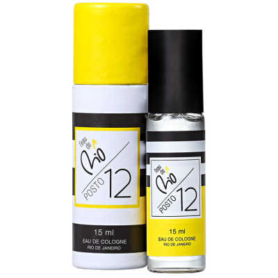 L´Eau de Riô Perfume Unissex Posto 12 - Eau de Cologne 15ml