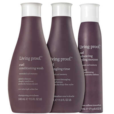 Living Proof Curl Mousse Kit (3 Produtos)