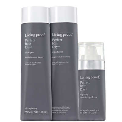 Living Proof Perfect Hair Day (PHD) Night Treatment Kit (3 Produtos)