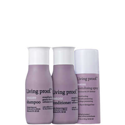Living Proof Restore Revitalizing Travel Kit (3 Produtos)