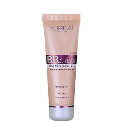 L'Oréal Paris Creme 5 em 1 FPS 20 Escuro  – BB Cream 50ml