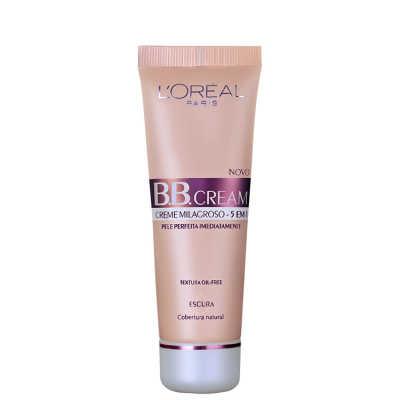 L'Oréal Paris Creme 5 em 1 FPS 20 Escuro  – BB Cream 50ml