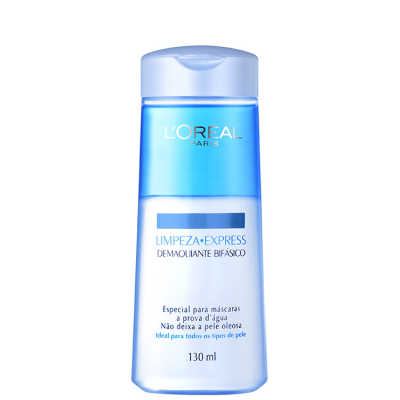 L'Oréal Paris Dermo-Expertise Limpeza Express – Demaquilante Bifásico 130ml