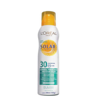 L'Oréal Paris Solar Expertise Aerosol Toque Seco FPS 30 - Protetor Solar 200ml