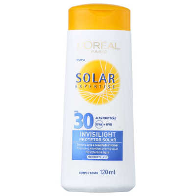 L´Oréal Paris Solar Expertise Invisilight FPS 30 - Protetor Solar 120ml