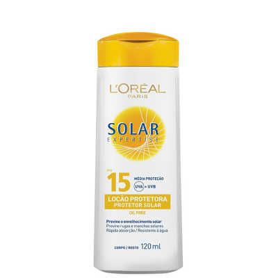 L´Oréal Paris Solar Expertise Loção FPS 15 - Protetor Solar 120ml