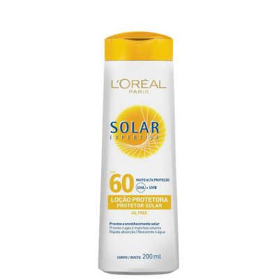 L´Oréal Paris Solar Expertise Loção FPS 60 - Protetor Solar 200ml
