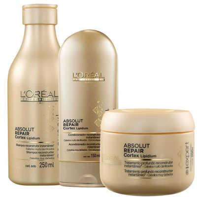 L'Oréal Professionnel Absolut Repair Cortex Lipidium Kit (3 Produtos)