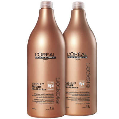 L'Oréal Professionnel Absolut Repair Pós-Química Multi-reconstrutor Salon Kit (2 Produtos)