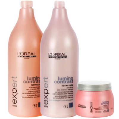L'Oréal Professionnel Lumino Contrast Pro Trio Kit (3 Produtos)