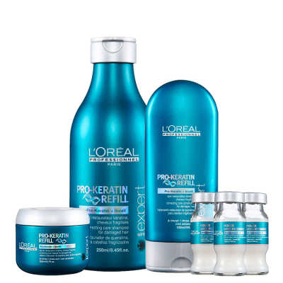 L'Oréal Professionnel Pro-Keratin Refill Nutrition Kit (4 Produtos)