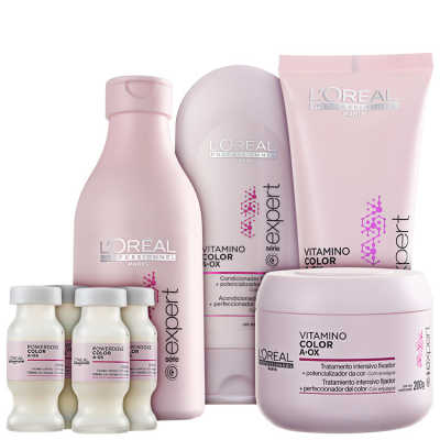 L'Oréal Professionnel Vitamino Color  A.OX Full Kit (5 Produtos)
