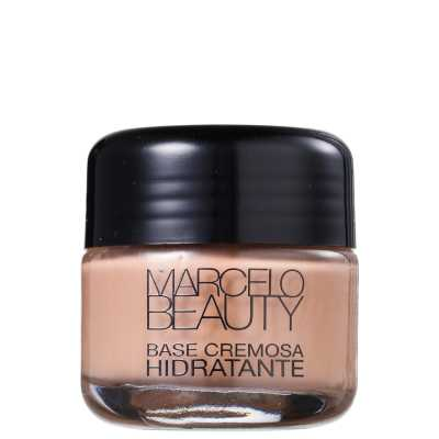 Marcelo Beauty Base Hidratante Bege Médio - Base Cremosa 30g