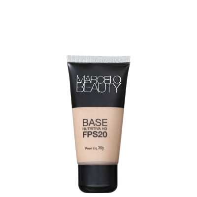 Marcelo Beauty Nutritiva HD Fps 20 Clara - Base 30g