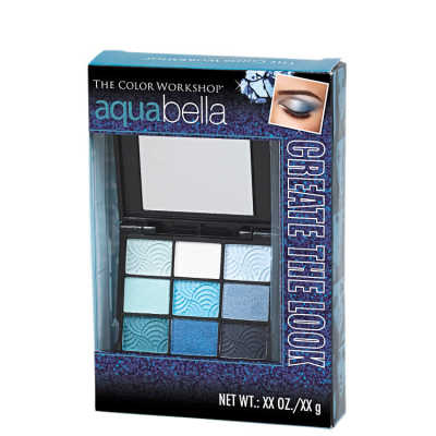 Markwins The Color Workshop Create The Look Perfect Eyes Aqua Bella - Estojo de Maquiagem