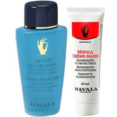 Mavala Active Hand Gel e Mavala Hand Cream (2 Produtos)