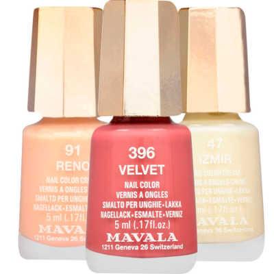 Mavala Izmir Reno Velvet Kit (3 Produtos)