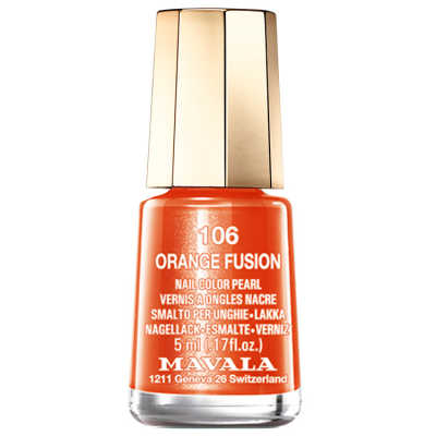 Mavala Mini Color Orange Fusion - Esmalte 5ml