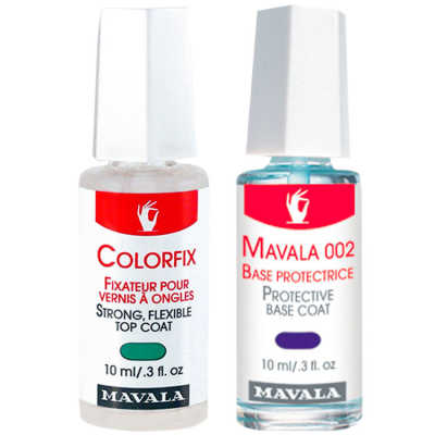 Mavala Protective Base Coat e Colorfix for Nail Polish Kit (2 Produtos)