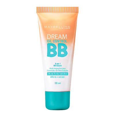 Maybelline Dream Oil Control 8 em 1 Fps 15 Médio - BB Cream 30ml