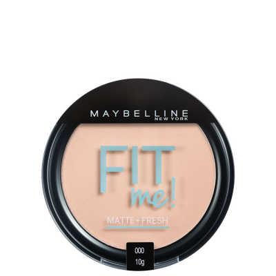Maybelline Fit Me Cor 000 Translúcido Essencial - Pó Compacto