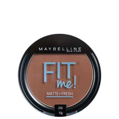 Maybelline Fit Me Cor 260 Médio Particular - Pó Compacto